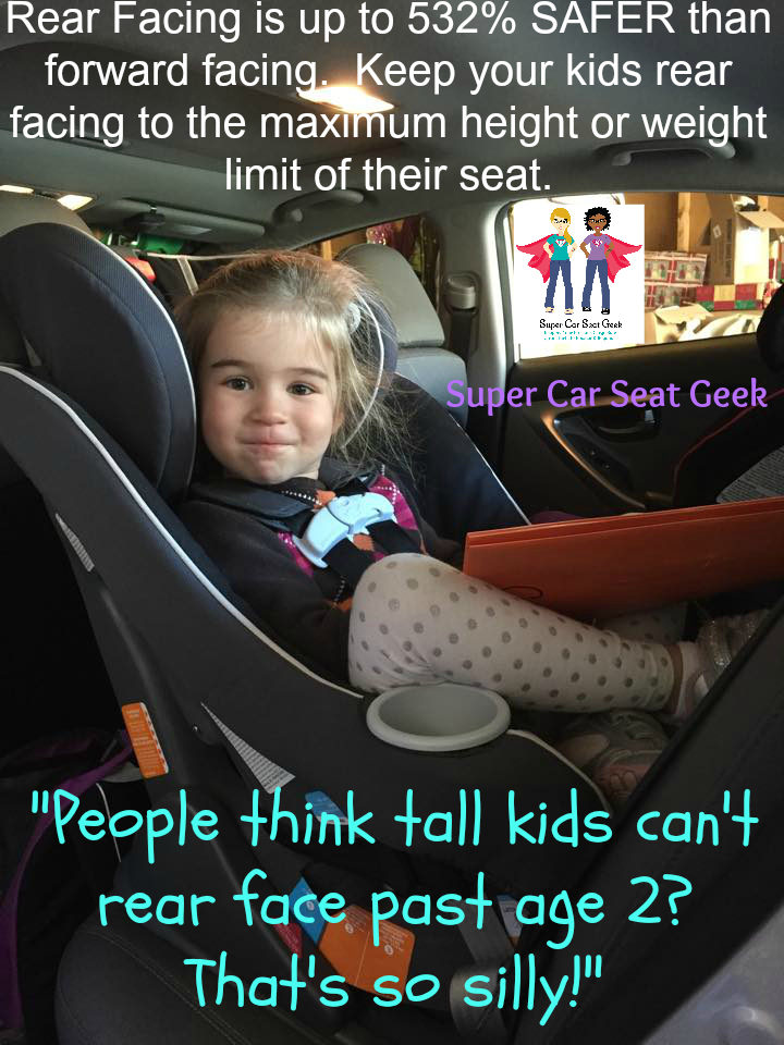 Did You Know That There Are Car Seats Will Rear Face To As Much