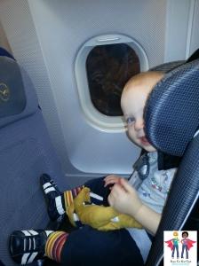 RF diono on plane