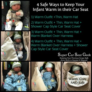 4 Safe Ways to Keep Your Infant Warm in their Car Seat